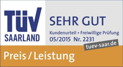Tüv Saarland - Sehr Gut Preis / Leistung